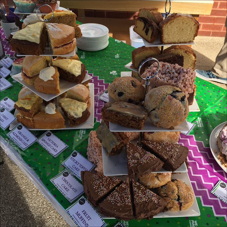 Our Never ordinary Coffee Morning For Macmillan